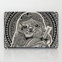Polynesian Sloth iPad Case