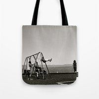 The Swing Set Tote Bag