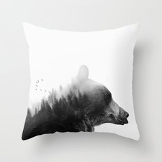 Big Bear Throw Pillow