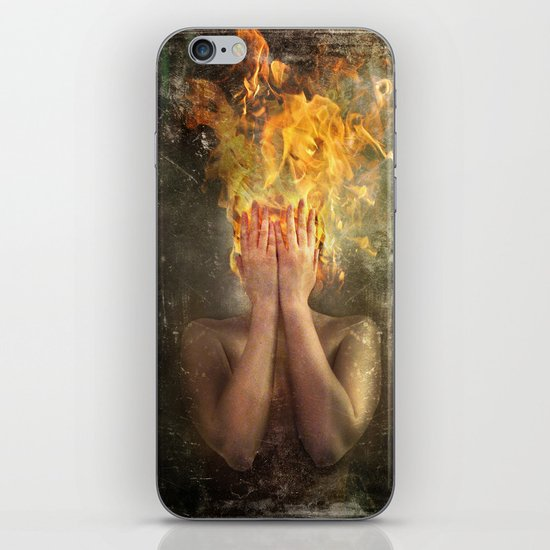 Perish the Thought iPhone & iPod Skin