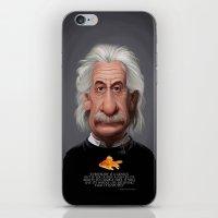 Celebrity Sunday ~ Albert Einstein Genius Fish iPhone & iPod Skin