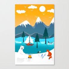 River Island Canvas Print