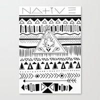 N A T I V E Canvas Print