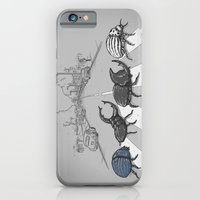iPhone & iPod Case featuring The Beetles by Alex Solis