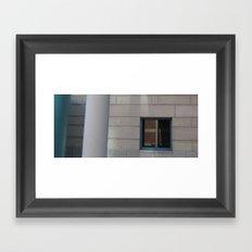Steel and Stone Framed Art Print