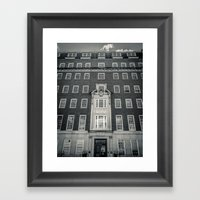 Egginton House Framed Art Print