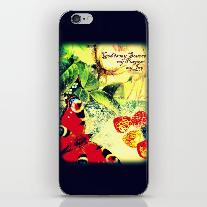 God is my Source, my Purpose, my Joy iPhone & iPod Skin