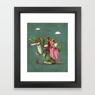 Framed Art Print featuring Historical Reconstitutio… by VINTZ