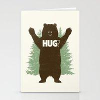 Bear Hug? Stationery Cards
