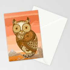 Owlie in Autumn Stationery Cards