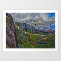 Windward Passage Art Print