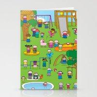 Playground  XL Stationery Cards