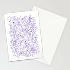 Triangles! Triangles! Triangles! Stationery Cards