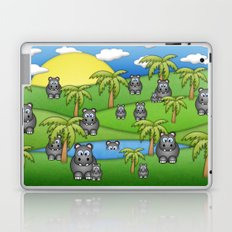 Hippos. Laptop & iPad Skin