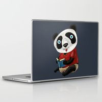 panda Laptop & iPad Skins featuring Panda by gunberk