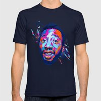 Ol' Dirty Bastard: Dead … Mens Fitted Tee Navy SMALL