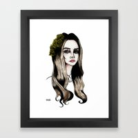 Lana Framed Art Print