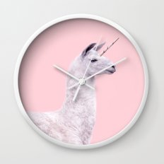 UNICORN LLAMA Wall Clock