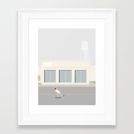 Framed Art Print - SKATEBOARD TUR - Swen Swensøn