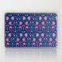 Folkloric In Blue Laptop & iPad Skin