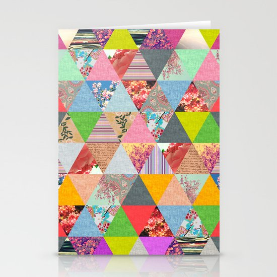 Lost in ▲ Stationery Card