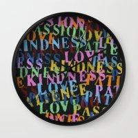 Love #1 Wall Clock