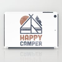Happy Camper iPad Case