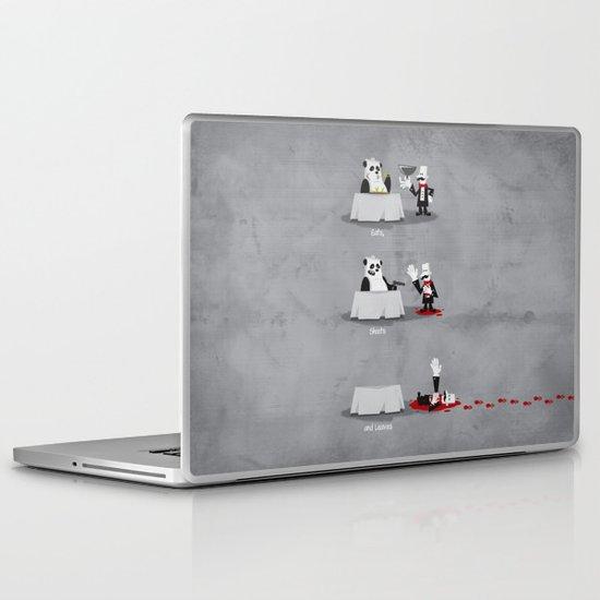 Eating Habits of the Panda Laptop & iPad Skin