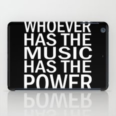 The Power of Music iPad Case
