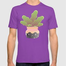 Stay Chill Mens Fitted Tee Ultraviolet SMALL