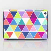 Multi Colour Triangle; iPad Case