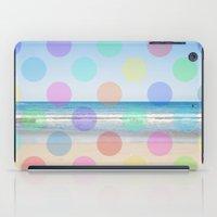 Polka Dot Beach  iPad Case