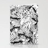 Mr Lovercraft's Monsters Stationery Cards