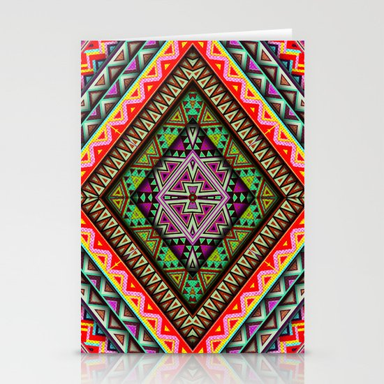 Diamond Stationery Card