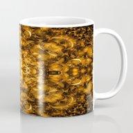 Golden Kaleidoscope Mug