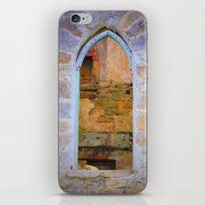 Window in Ruins iPhone & iPod Skin
