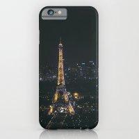 Eiffel Tower Light Show iPhone 6 Slim Case
