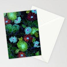 Oriental blossom (night version) Stationery Cards