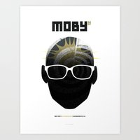 Moby DJ set  Exclusive TBD Fest Poster Art Print