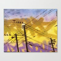High Wire Act Canvas Print