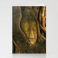 Buddha - Ayutthaya - Thailand Stationery Cards