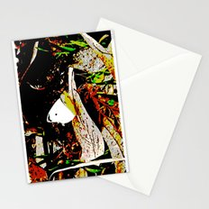 Cabbage White Butterfly Comics Stationery Cards