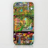 iPhone & iPod Case featuring The Secret Garden Book Shelf by Aimee Stewart