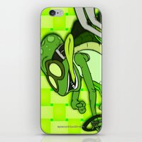 Fast n Spaztic iPhone & iPod Skin