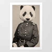 Panda Supremacist Art Print