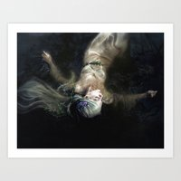 Gone To Thy Water Grave Art Print