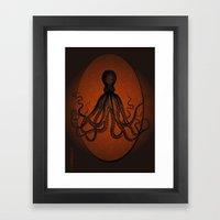 Giant Squid Framed Art Print