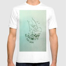 Sea You Later  SMALL White Mens Fitted Tee