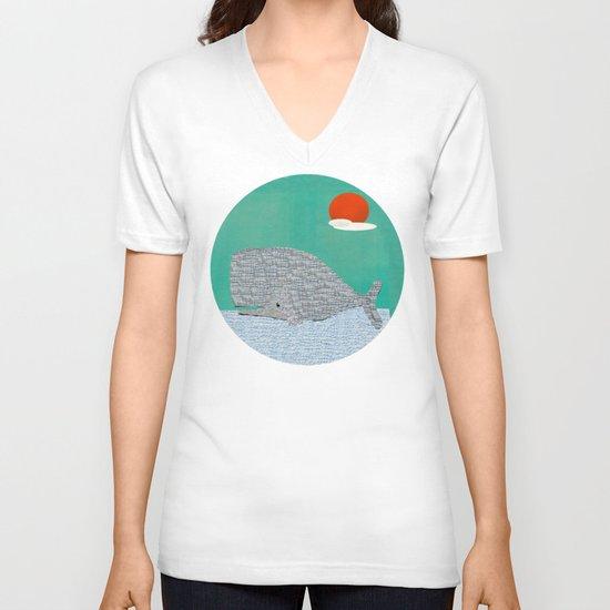 The Ocean  V-neck T-shirt