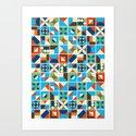 Nirmana Pattern Art Print